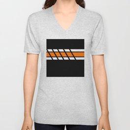 Team Colors 4...Orange Unisex V-Neck