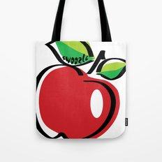 Apple Swoozle Tote Bag