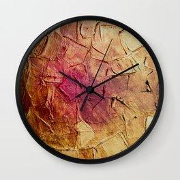 Kintsugi Chips Wall Clock