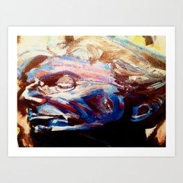 Phil Lesh Acrylic Painting Grateful Dead and Furthur Art Print