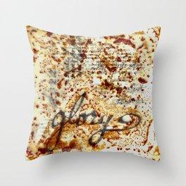 Encaustic Glory Throw Pillow