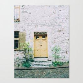 Visby Doorway Canvas Print