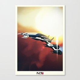 Normandy SR2 - Mass Effect Canvas Print