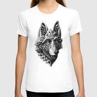 german shepherd T-shirts featuring German Shepherd by BIOWORKZ
