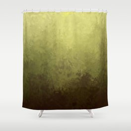 Golden texture Shower Curtain