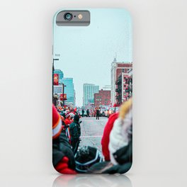 Downtown is Confetti iPhone Case