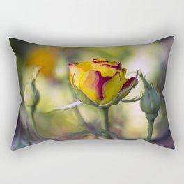 Bright cheeerful rose Rectangular Pillow