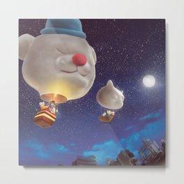 SmileDog Balloon Metal Print