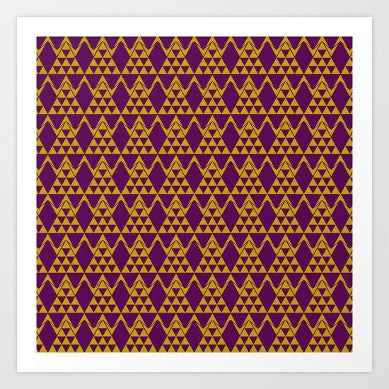 tribal pattern 3 Art Print