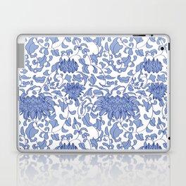 Dutch Delft Blue Tiles by Zenzphotography on Laptop Sleeve Laptop Sleeve