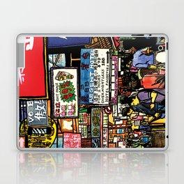 Hong Kong Mongkok Street Laptop & iPad Skin