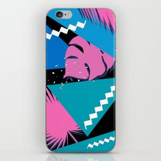 tropical love colors iPhone Skin