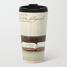 Study His Word Metal Travel Mug
