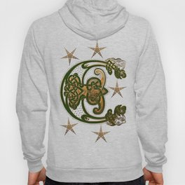 Hunter and Gold Celtic Hoody