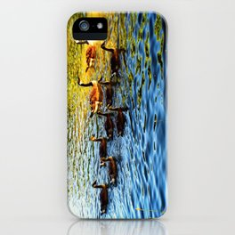 Lake Side Adventures iPhone Case