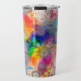 Color blobs by Nico Bielow Travel Mug