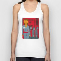 1984 Tank Tops featuring 1984 by Cristian Barbeito