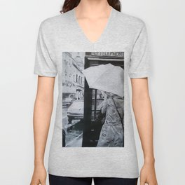 """In The City"" Unisex V-Neck"