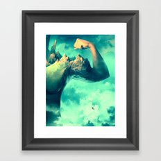 Raw Ambition Framed Art Print