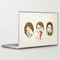 evil Laptop & iPad Skins featuring No Evil Hannibal by Huebucket