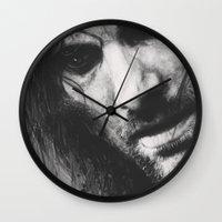 aragorn Wall Clocks featuring Aragorn by Alba Palacio