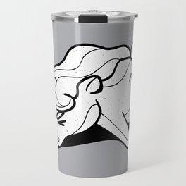 Tired Unicorn broken Travel Mug