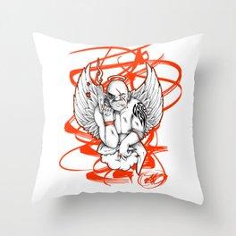 Angel Gangsta Throw Pillow