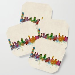 Jersey City New Jersey Skyline Coaster