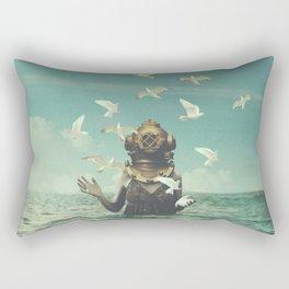 Aquatic Radioactive Rectangular Pillow