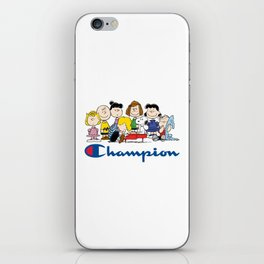Snoopy and The Peanuts Gang iPhone Skin