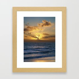 capo sunset Framed Art Print