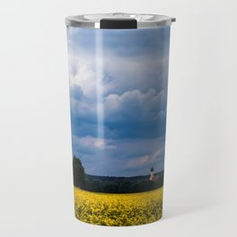 Concept nature : The yellow field Travel Mug