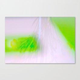 Green Carnations Canvas Print