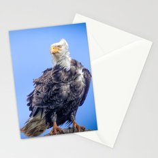Eagle in Breeze Stationery Cards
