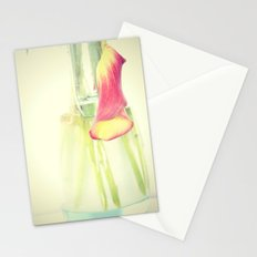 Dying Calla Stationery Cards