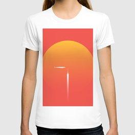 Red Voyage: The Airship T-shirt