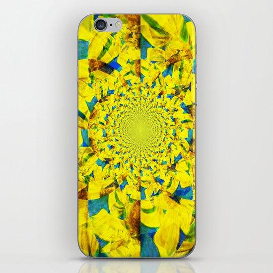 China Kat Sunflower iPhone & iPod Skin