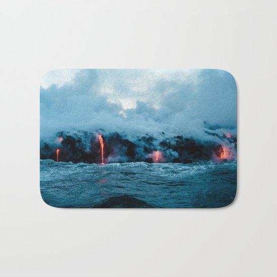 Volcano #ocean Bath Mat