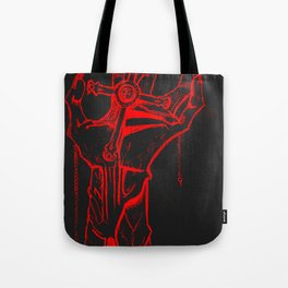 DeathCross Tote Bag