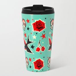 Swallow the cherry Travel Mug