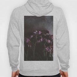 Dark Purple Floral (Color) Hoody