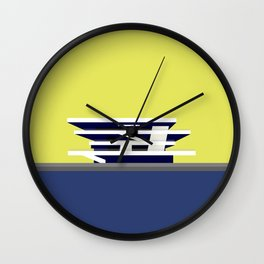 America's Cup Chipperfield Architecture Wall Clock