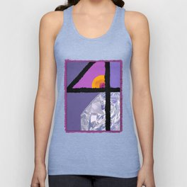 Diamond Four Unisex Tank Top