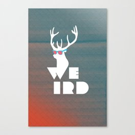Weird Deer!  Canvas Print