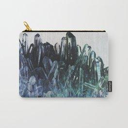 Ice quartz Carry-All Pouch