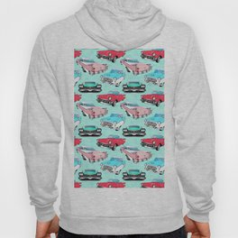 Retro Fins + Fenders in Mod Mint Hoody
