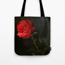 The wild red rose Tote Bag