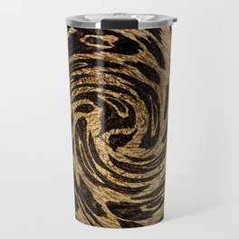 Animal Print Leopard Travel Mug