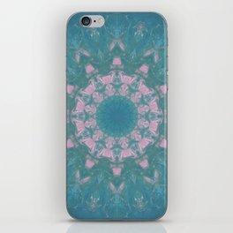 Navajo Turquoise Gemstone Mandala No. 40 iPhone Skin