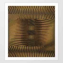 Pharaohs Dimensions Art Print